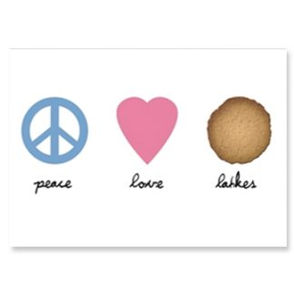 Peace Love & Latkes