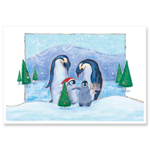4-Penguin-Family