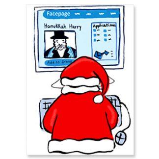 Santa on Facebook