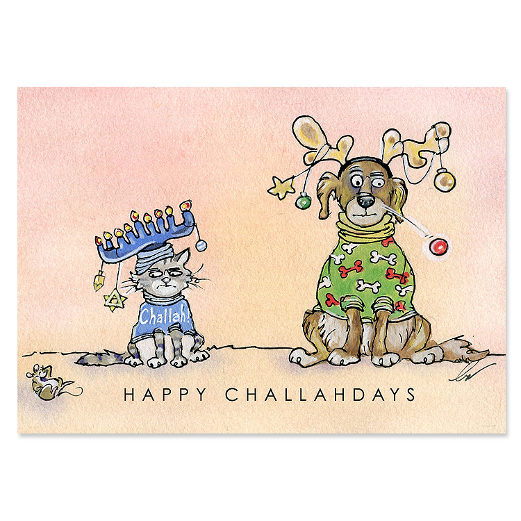 Happy Challahdays-SOLD OUT
