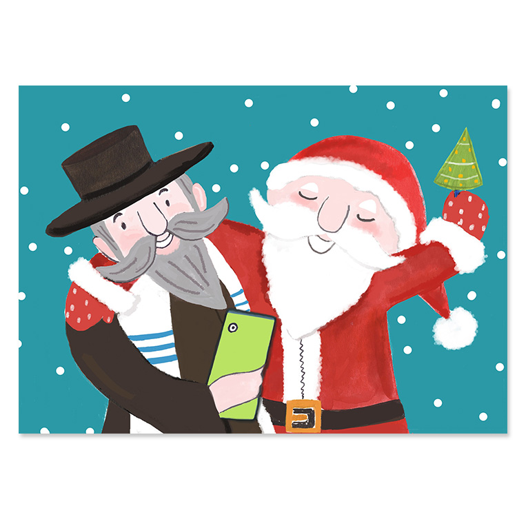 Santa Rabbi Selfie BEST SELLER